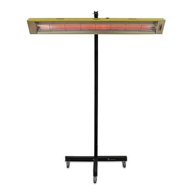 TPI Fostoria® 5120 BTU Portable Quartz Infrared Spot Electric Heater, Gold/Black (PCH48C)
