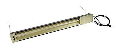 TPI Fostoria® 6826 BTU Rated Quartz Electric Infrared Heater, Brown (OCH57208VCE)