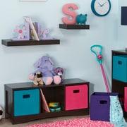 RiverRidge® Kids Kids Bench with 3 Storage Cubbies - Espresso