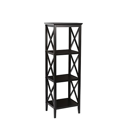 RiverRidge® Home Products X- Frame Collection 4-Shelf Storage Tower 53.86