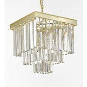 EverythingHome Empire 4-Light Crystal Chandelier