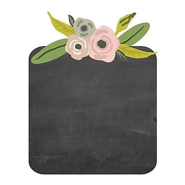Eco Wall Decals 11 Piece Flower Chalkboard Wall Decal Set