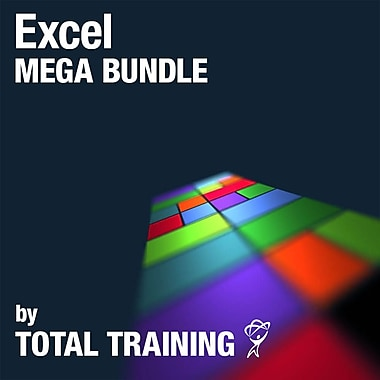 Excel Mega Bundle by Total Training, anglais [téléchargement]