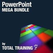 PowerPoint Mega Bundle by Total Training, anglais [téléchargement]