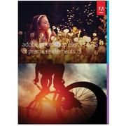 Adobe® – Ensemble Photoshop Elements 15 et Premiere Elements 15, anglais [téléchargement]