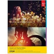 Adobe – Photoshop Elements 15 & Premiere Elements 15, version Étudiants et enseignants, anglais [téléchargement]