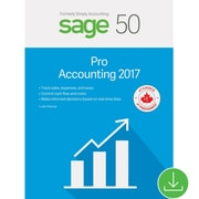 Sage 50 Pro Accounting 2017, Bilingual [Download]