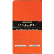 JAM Paper® Paper Table Covers, Orange Table Cloths, Sold Individually (291323334)