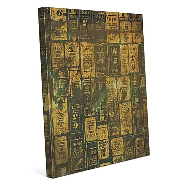 Click Wall Art 'Aged Signs' Graphic Art on Wrapped Canvas; 24'' H x 20'' W x 1.5'' D