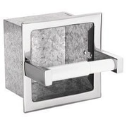 Donner Bath Furnishings Hotel Motel Extra Roll Recessed Toilet Paper Holder