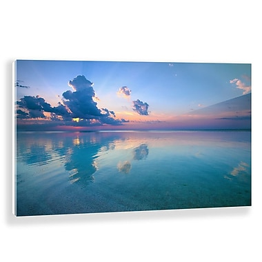 Two Palms Art Bazaar 'Heaven on Earth' Photographic Print on Plaque; 20.5'' H x 31'' W x 1'' D
