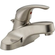 Peerless Faucets Lavatory Faucet Single Handle w/ Drain Assembly; Brushed Nickel