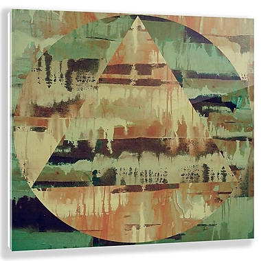 Two Palms Art Bazaar 'Earth' by Antoni Designs Graphic Art on Plaque; 15'' H x 15'' W x 1'' D