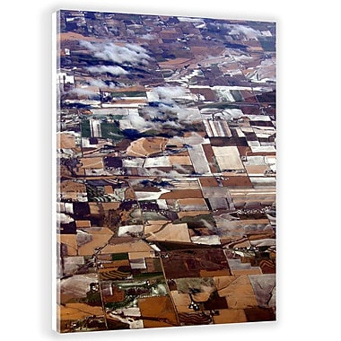 Two Palms Art Bazaar 'Land' by Antoni Designs Graphic Art on Plaque; 31'' H x 20.5'' W x 1'' D