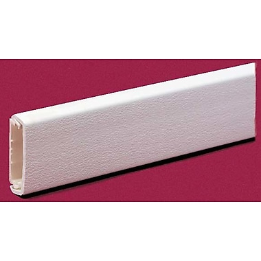Wiremold CordMate Wire Channel; Ivory