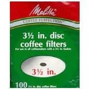 Melitta Disc Coffeemaker Filters