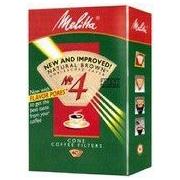 Melitta No. 4 Cone Coffee Filter (Set of 40)