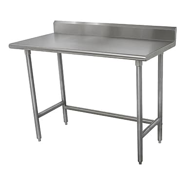 Advance Tabco Heavy Duty Stainless Steel Top Workbench; 40.5'' H x 72'' W x 30'' D