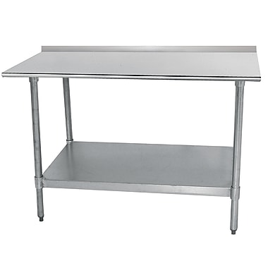 Advance Tabco Economy Stainless Steel Top Workbench; 35.5'' H x 30'' W x 24'' D