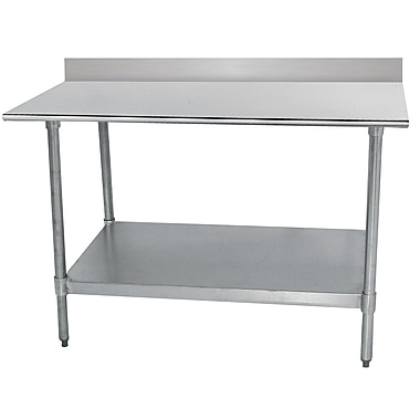 Advance Tabco Economy Stainless Steel Top Workbench; 40.5'' H x 48'' W x 30'' D