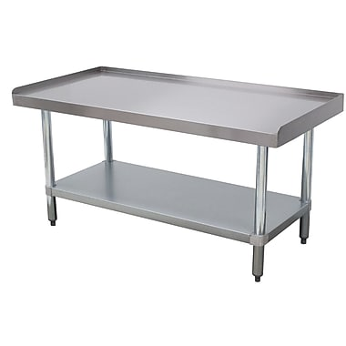 Advance Tabco Economy Equipment Stainless Steel Top Workbench; 25'' H x 30'' W x 36.25'' D