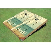 All American Tailgate NCAA 10 Piece Hammock Beach Themed Cornhole Boards Bag Toss Set