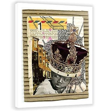 Two Palms Art Bazaar 'First Class' by Jon Lavoie Graphic Art on Plaque; 45'' H x 30'' W x 1'' D