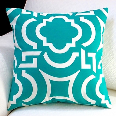 Artisan Pillows Modern Geometric Coastal Indoor/Outdoor Throw Pillow (Set of 2)