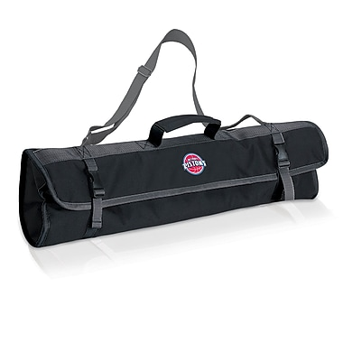Picnic Time NBA 3 Piece BBQ Tote; Detroit Pistons