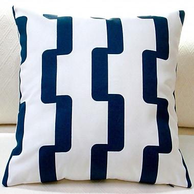 Artisan Pillows Rhyme Stripe Modern Geometric Indoor/Outdoor Throw Pillow (Set of 2)