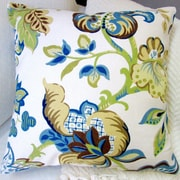 Artisan Pillows Garden Flowers Modern French Cottage Floral Indoor Pillow Cover