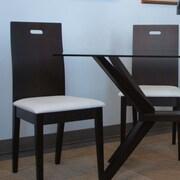 Wildon Home   Nova Side Chair (Set of 2); Coffee