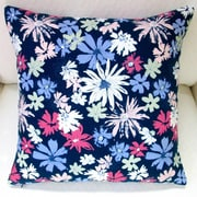 Artisan Pillows Ink Outburst Flowers Indoor Throw Pillow