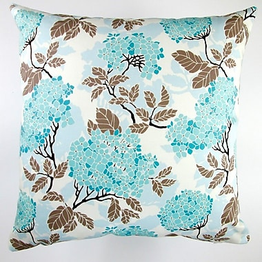 Artisan Pillows Birch Farm Hydrangea Egg Modern Floral Indoor Pillow Cover