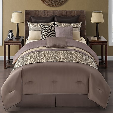 VCNY Mali 9 Piece Comforter Set; Queen