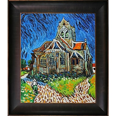 Tori Home The Church at Auvers by Vincent Van Gogh Framed Painting
