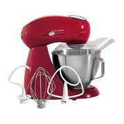 Hamilton Beach Eclectrics All-Metal Stand Mixer; Carmine Red