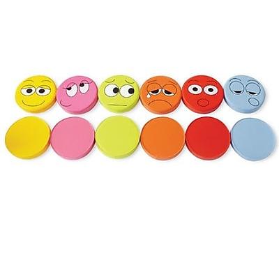 Kalokids Emotions Kids Cotton Floor Cushion (Set of 6)