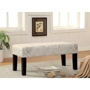 Hokku Designs Bury Wood Bench; Print