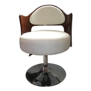 Ceets Caravan Adjustable Leather Barrel Chair