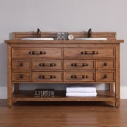 James Martin Furniture Malibu 60'' Double Bathroom Vanity Base