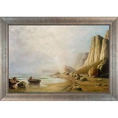 Tori Home Coast of Labrador by William Bradford Framed Painting