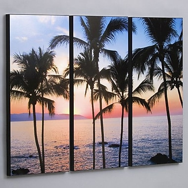 Wilson Studios Puerto Vallarta Sunset 3 Piece Photographic Print Set