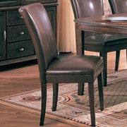 Wildon Home   Palo Alto Parsons Chair (Set of 2); Brown