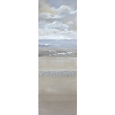 Portfolio Canvas Ocean Calm I by Angellini Painting Print on Wrapped Canvas