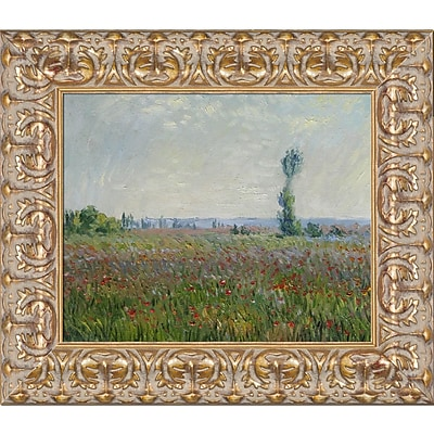 Tori Home The Fields of Poppies by Claude Monet Framed Painting