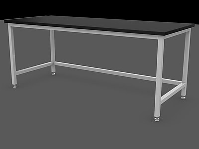 SteelSentry Epoxy Laboratory Table; 36'' H x 48'' W x 30'' D