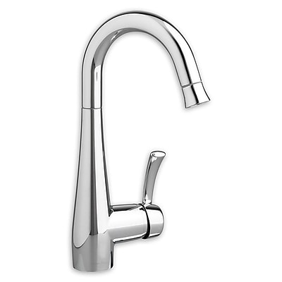 American Standard Quince Single Handle Deck Mounted Kitchen Faucet; Chrome