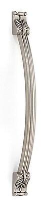 Alno Fiore 10'' Center Arch Pull; Satin Nickel