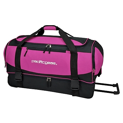 Pacific Gear Gala 17.5'' 2 Wheeled Carry-On Duffel; Pink